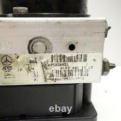 03-05 Mercedes W163 Ml350 Ml500 Ml55 Amg Abs Module De Pompe De Frein Anti-blocage Oem //