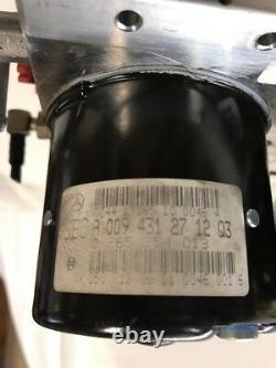 03-06 Mercedes Benz E500 Sl500 Abs Brake Pompe Hydraulique Anti-verrouillage 0265960061