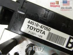 04 05 06 07 08 09 Toyota Prius Abs Assemblage De Pompe D'actionneur De Frein Antiblocage Oem