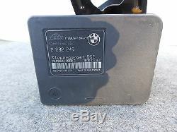 04-06 Bmw E46 M3 Abs Pompe De Frein Antiblocage 2282250 & Module 2282249 Oem 2392