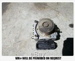 04-06 Nissan Maxima Antiblocage Freins Abs Panne De La Pompe Assemblée Module At 5 Vitesse
