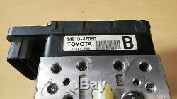 04-09 Abs Toyota Prius Antiblocage Pompe De Frein Module # 44510-47050 As Is Oem