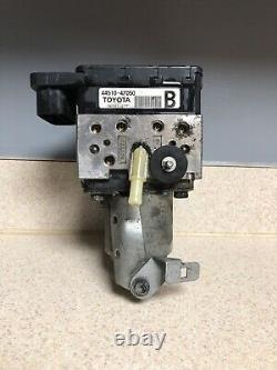04-09 Toyota Prius Abs Anti Lock Brake Pump Actuator 44510-47050/ 44500-47090