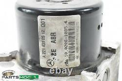 07-09 Mercedes W221 S550 Cl550 Abs Anti Lock Brake Pump Module 2215458732