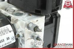 08-11 Mercedes W204 C300 C250 Abs Module De Frein De Pompe Anti-verrouillage 2044313712 Oem