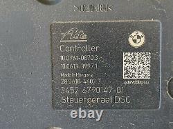 09 10 Bmw E90 E91 E92 Abs Pompe Antiblocage De Freins Oem