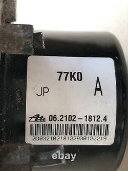 09-13 Suzuki Grand Vitara Abs Pompe Antilock Frein 06.2109-600.3 06.2619-3720.1