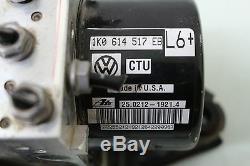 13 Vw Volkswagen Jetta Antiblocage De Freins Abs Esp Module De Commande Pompe 1k0907379