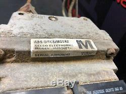 1997 Corvette C5 Coupé Oem Abs Antiblocage Pompe De Frein Code Du Module M Ebcm 16263481