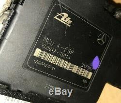 1998-2000 Mercedes Benz Ml320 Ml430 W163 Anti-lock Freins Abs Pompe Oem Withwarranty