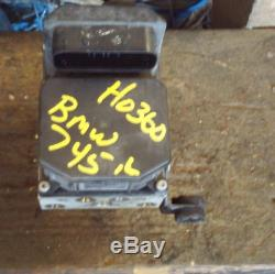 2002-2005 Bmw 745i 745li 760i 760li Abs Anti Blocage De Frein Ensemble Pompe Oem 02-05