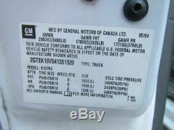 2003 2004 Gmc Sierra 1500 Anti Dispositif De Verrouillage Du Module De Freinage Abs 4 Roues