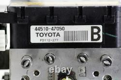 2004-2009 Toyota Prius Abs Antiblocage De Frein Pompe Montage De L'actionneur 44510-47050