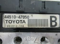 2004-2009 Toyota Prius Antiblocage Freins Abs Pompe 44510-47050 Testé Fonctionne Très Bien