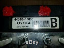 2004 Pour 2009 Toyota Prius Antiblocage Abs Pompe De Frein Montage De L'actionneur Oem