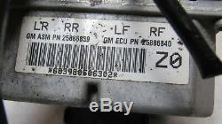 2005-2008 Chevrolet Corvette C6 Z06 Abs Pompe De Frein Anti-blocage Pompe De Frein Oem 9349 B5