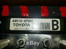 2006 2007 2008 2009 Toyota Prius Antiblocage Abs Pompe De Frein Montage De L'actionneur Oem