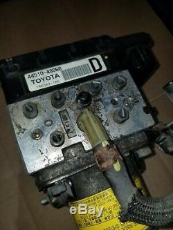 2006-2008 Rx400h Toyota Highlander Hybride Antiblocage Abs De Freinage Ensemble De Pompe
