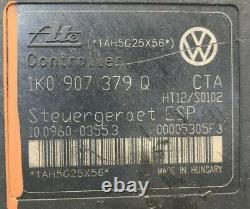 2006 2009 Volkswagen Jetta Abs Module De Pompe De Frein Antiblocage 1k0 907 379 Q