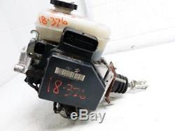 2006 2010 Hummer H3 Abs Antiblocage De Frein Pompe Maître-cylindre Booster Assemblée