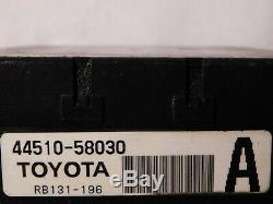 2007 11 Nissan Toyota Hybrid 44510-58030 Antiblocage Abs Assemblée Pompe De Frein Oem
