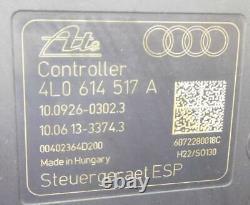 2007-2012 Audi Q7 (4l) Abs Anti Lock (esp) Brake Pump & Module