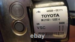 2008 Toyota Tundra Anti Lock Brake Abs Pump Anti Lock Brake Module 44500-oc111