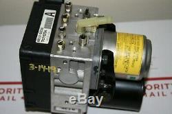 2009 Nissan Altima Hybrid Antiblocage Freins Abs Ensemble De Pompe