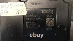 2010-2012 Ford Fusion Abs Anti Verrou Module De Commande De Frein Be58-2c219-ab