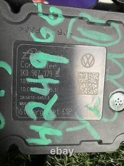2011- 2015 Volkswagen Jetta Abs Anti Lock Brake Pump Unit 1k0 907 379 Bl Esp