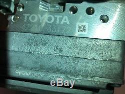 2012-2017 Toyota Camry Hybrid Antiblocage Freins Abs Module 47210-33172 Kr