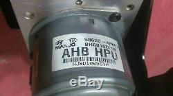 2012 Hyundai Sonata Hybrid Antiblocage Freins Abs Pompe Avec Module P / N 58620-4r001