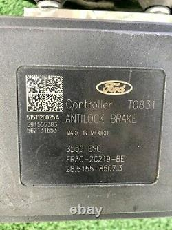 2015-2017 Ford Mustang V6 Abs Système De Commande De Module Antiblocage Auto Oem