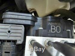 2017 Toyota Corolla Abs Antiblocage Pompe De Frein Witho Sport Suspension 44540-02550