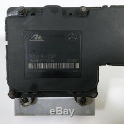 98-01 Mercedes W163 Ml350 Ml500 Ml55 Amg Abs Antiblocage Pompe De Frein Module Oem