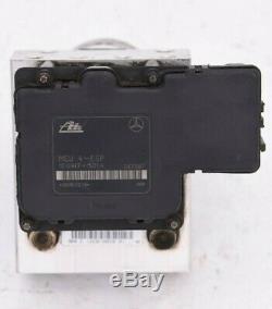 98-02 Mercedes W163 Ml55 Ml320 Ml430 Abs Antiblocage Pompe De Frein Module Unité Oem