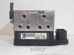 Actionneur De Frein Antiblocage Abs Pump 44510-48080 Highlander Hybride Lexus Rx450h