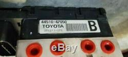 Actionneur De Pompe De Freinage Antiblocage De Frein Toyota Prius Abs 04-09 44500-47141 / 44510-47050