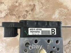 Actionneur Et Assemblage De La Pompe Antiblocage Toyota Prius Abs 2009