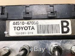 Assemblage De L'actionneur De Pompe De Frein Anti-blocage Pour Toyota Prius Abs 2004 2009