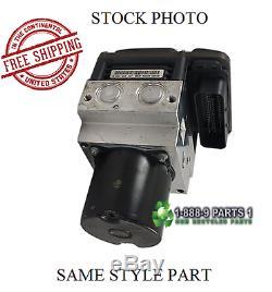 Assemblage De Pompe De Freinage Abs Antiblocage 2010 10 Jeep Wrangler Stk # L404k29
