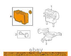 Gm Abs Oem Anti-lock Module Système De Contrôle De Freinage 19178838