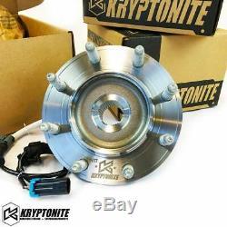 Kryptonite Garantie À Vie Roulement De Roue Pour 07-10 Chevy / Gmc 2500hd / 3500hd Srw