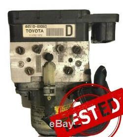 Lexus Rx400h Toyota Highlander Hybride Abs Antiblocage Pompe Module De Frein 44510-48060