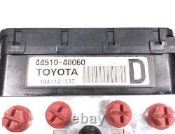 Lexus Rx400h Toyota Hybrid Hybrid Abs Anti-lock Module 44510-48060