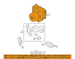 Mazda Oem 2010 3 Abs Valve Anti-blocage Freins-modulateur Bby7437azd