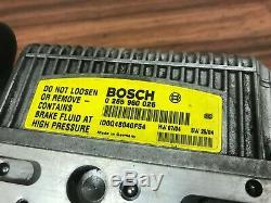 Mercedes Benz E320 E350 E500 Oem Abs Système Hydraulique Pompe De Frein Antiblocage Sbc 1