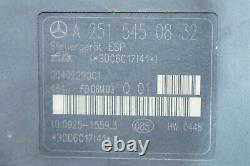 Mercedes R-klasse W251 ML W164 Abs Esp Steuergerät A2515450832 Hydroaulikblock /4