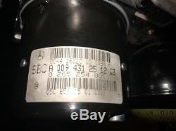 Mercedes R230 Sl500 E500 Sbc Frein Antiblocage Abs Pompe Hydraulique 0094312512 Oem