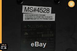 Mercedes W203 C320 C32 Amg Abs Antiblocage De Freins Pompe Esp Module 2035451632 Oem